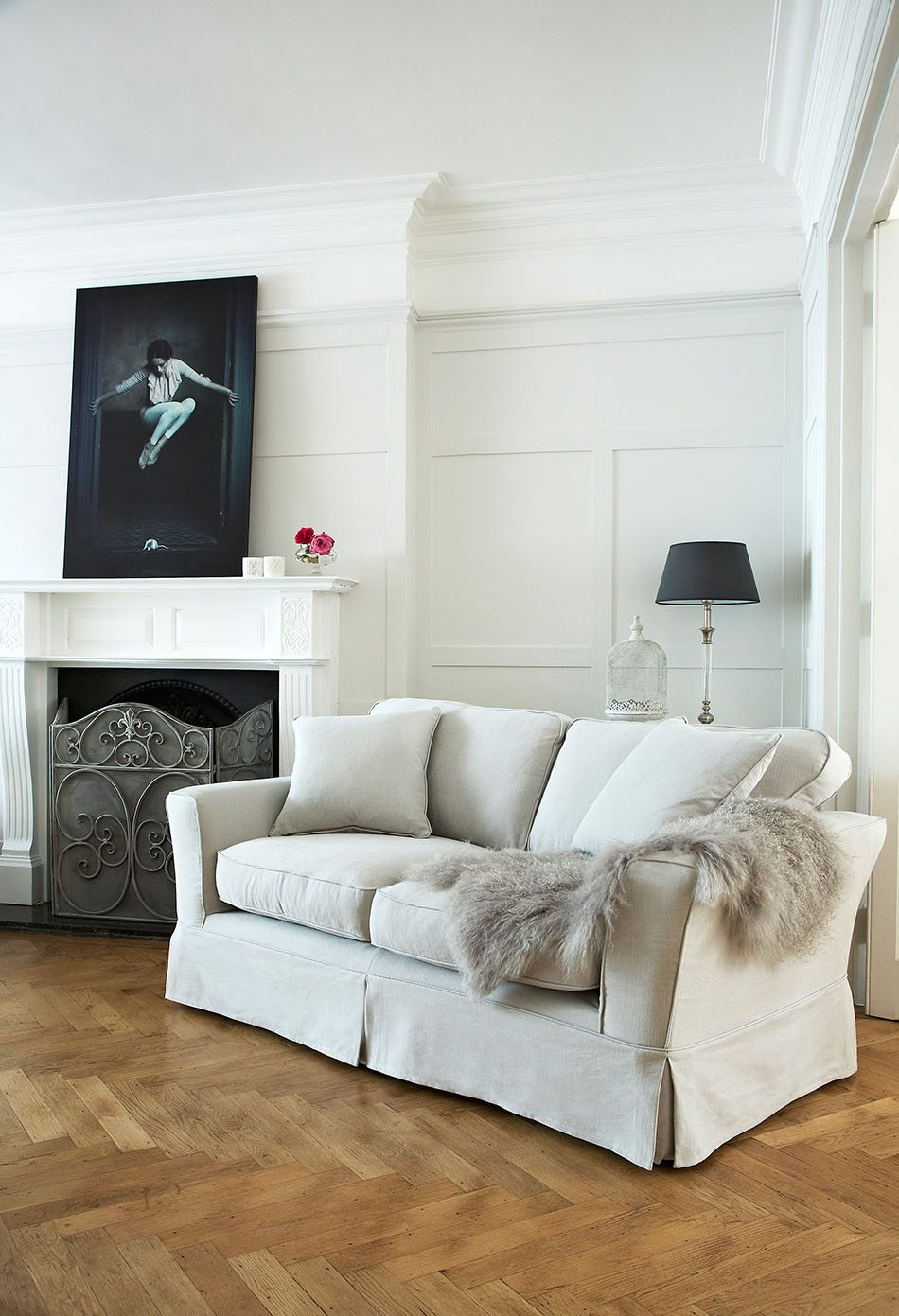 chimeneas de salon Egerton Sofa