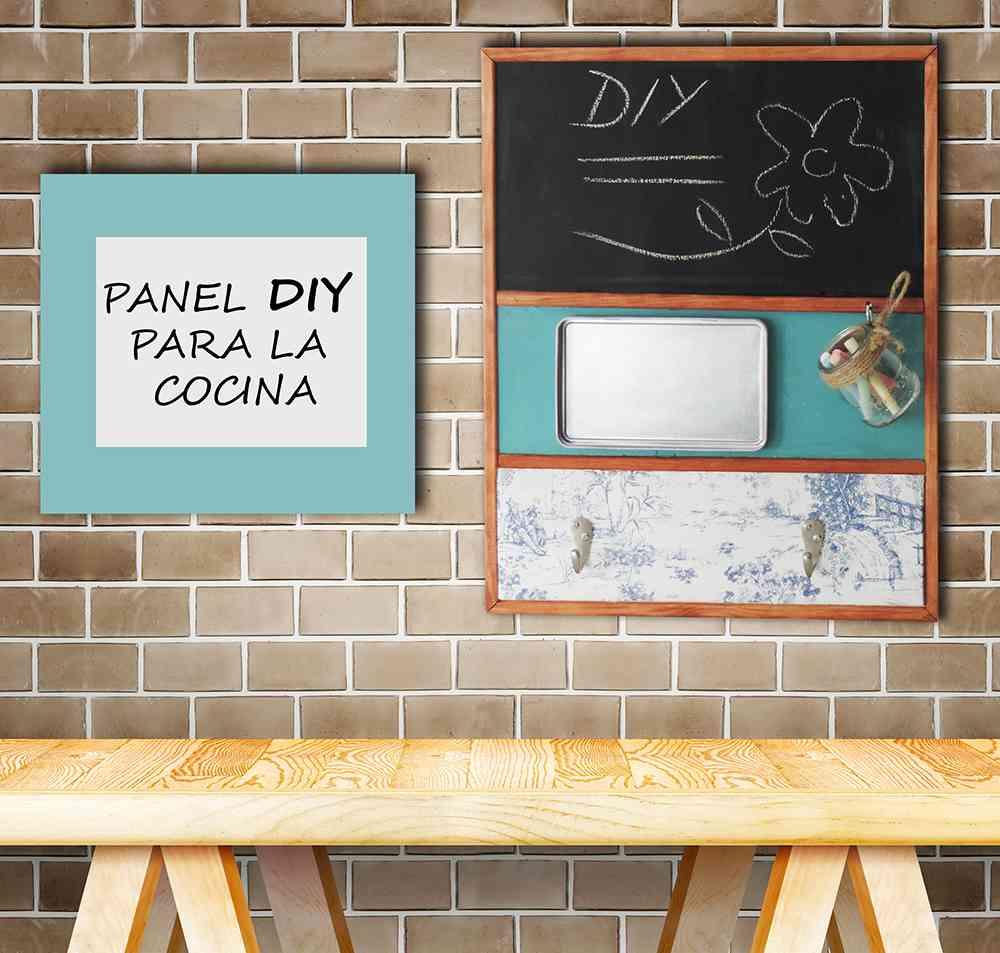 Un panel original para decorar la cocina - Panel pared cocina ...