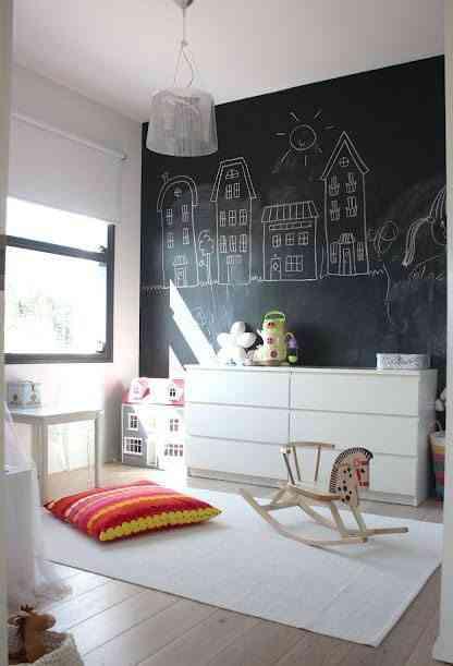 Transforma tus paredes con pintura de pizarra