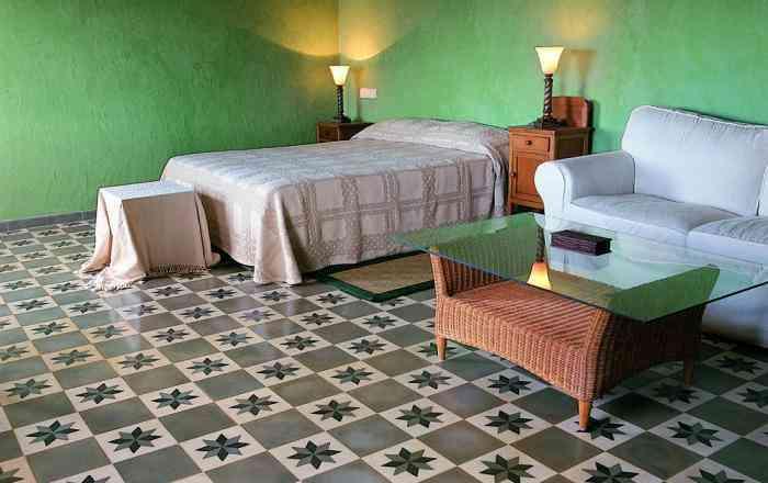 decorar los suelos Huguet dormitorio