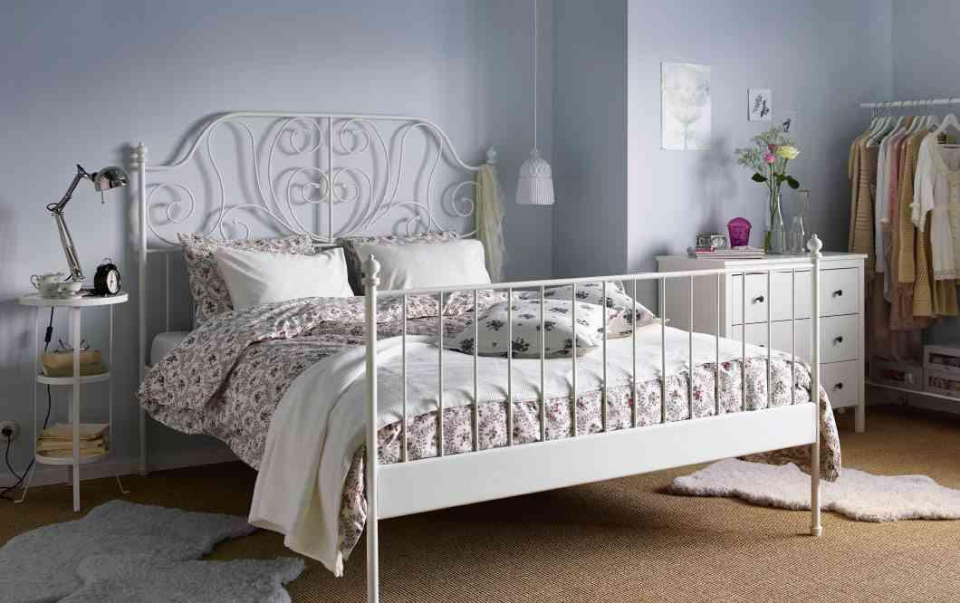 decoracion en forja ikea cama