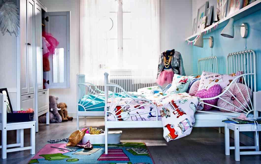 decoracion en forja ikea camas ninos