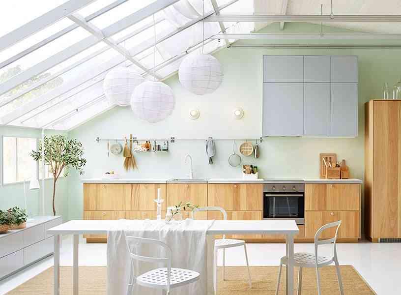Lamparas de techo modernas para cocina elegant lmpara de for Iluminacion cocina ikea