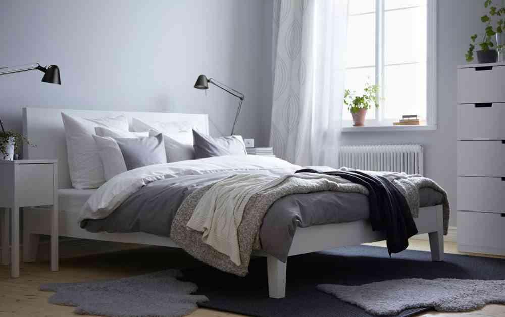 decoracion del dormitorio ikea dormitorio blanco