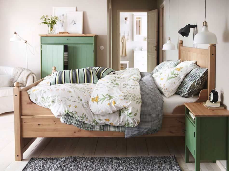 decoracion del dormitorio ikea dormitorio rustico