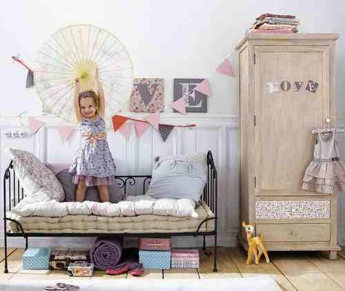 decoracion en forja maison cama infantil