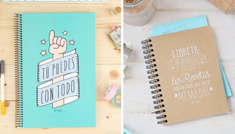 ideas de papeleria mr wonderful libretas