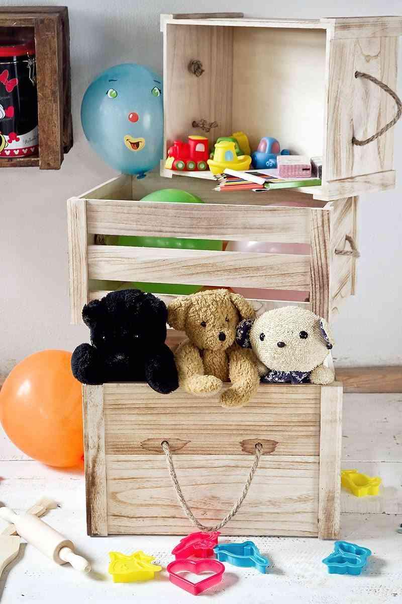 decorar con cajas muymucho infantil