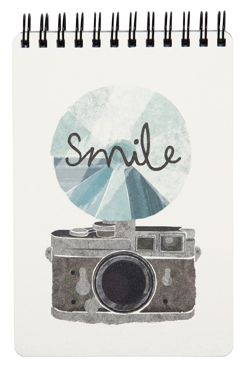 ideas de papeleria Torn Paper Smile Notebook