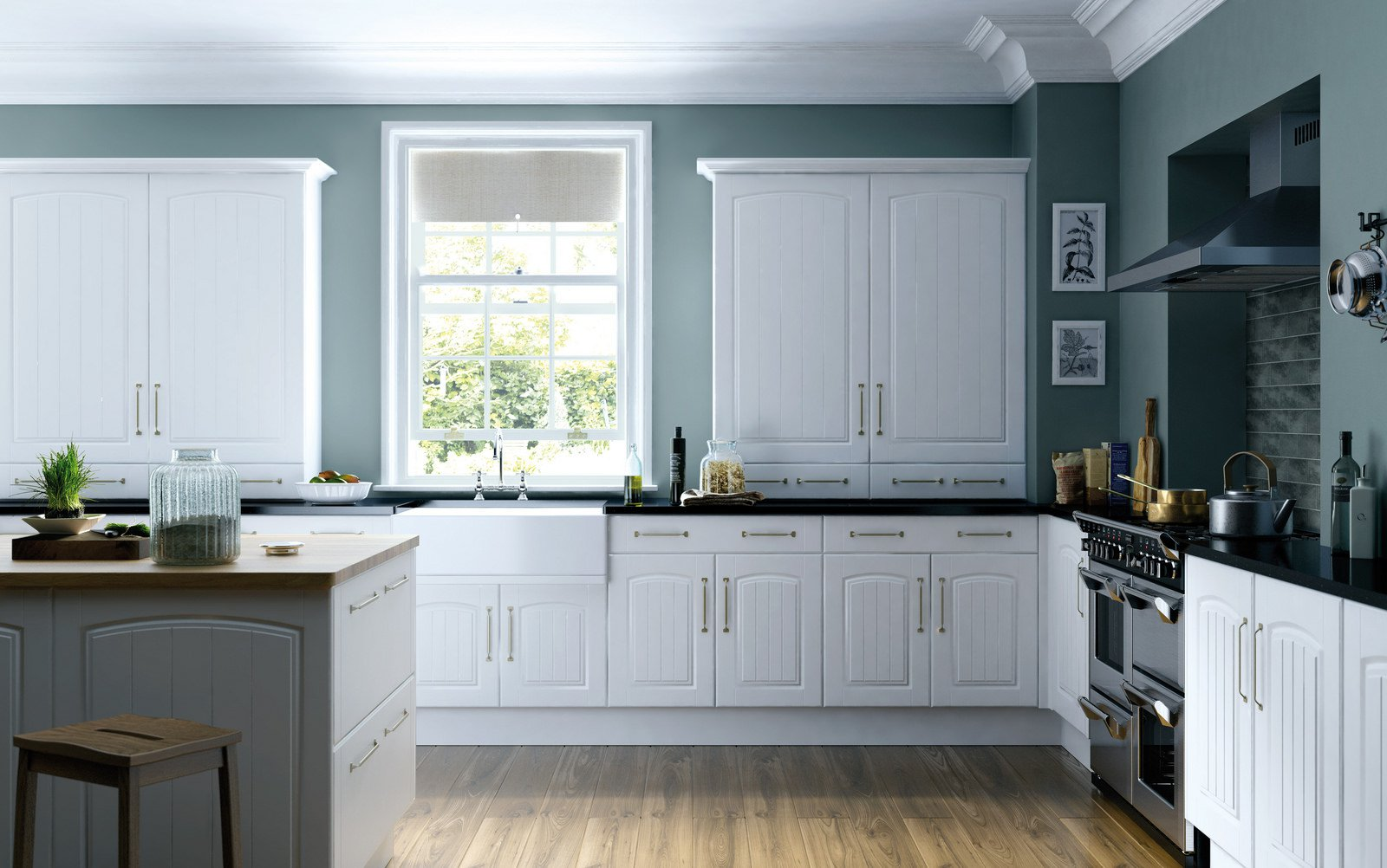 Trucos para actualizar la cocina y dejarla como nueva for Colores para gabinetes de cocina