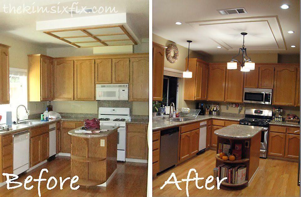 el antes y el después de una cocina