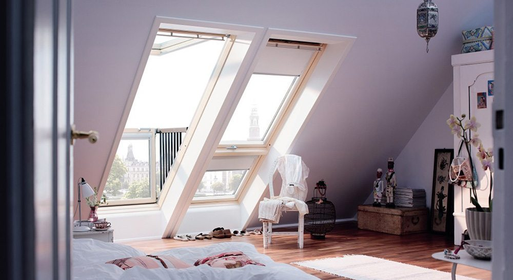 decorar la buhardilla bedroom cabrio velux