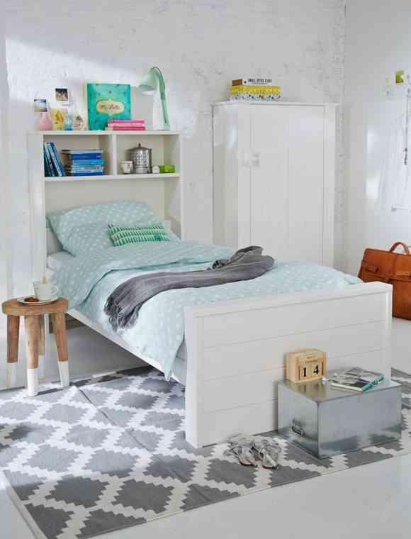 C mo decorar habitaciones juveniles con alfombras - Alfombras para dormitorios ...