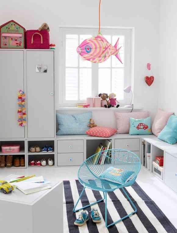 Cómo decorar habitaciones juveniles con alfombras