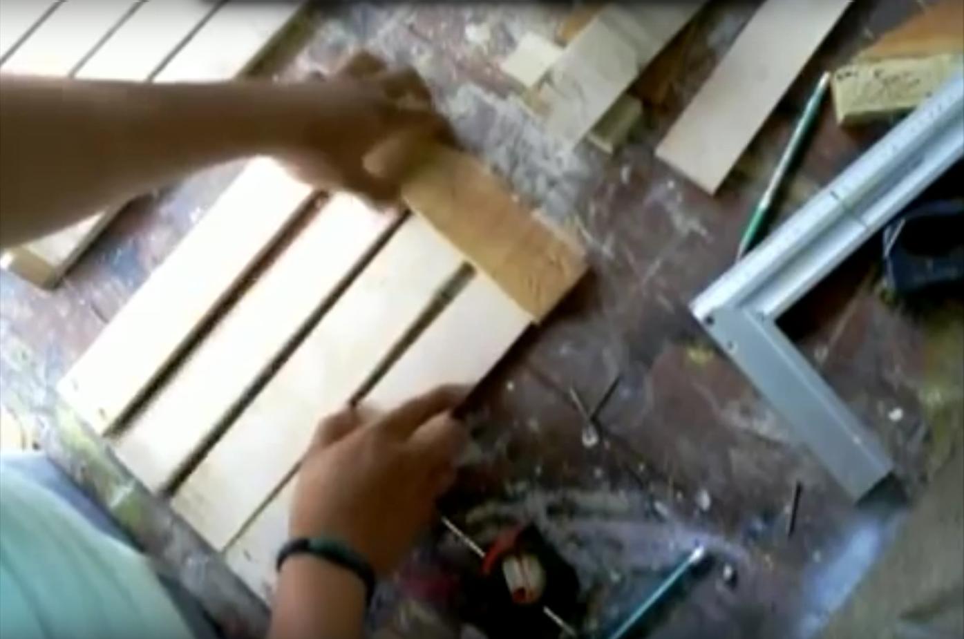 maderas para hacer una estantería
