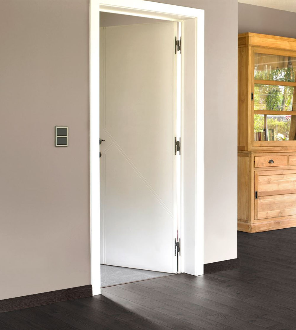 Cambia el estilo de tu casa con puertas de interior lacadas en blanco