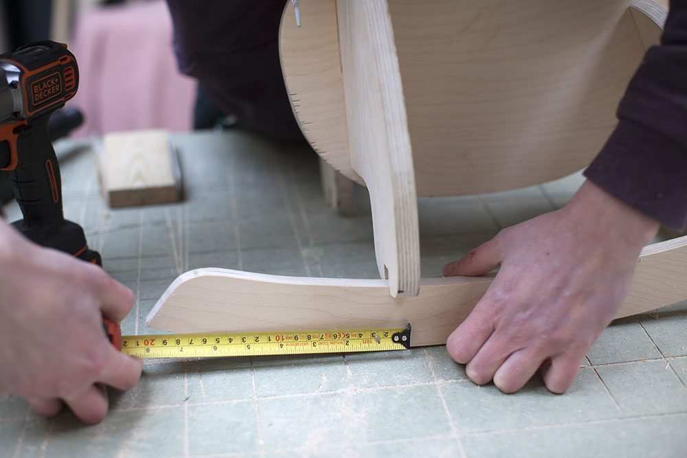 balancin de madera elefante montaje balancines
