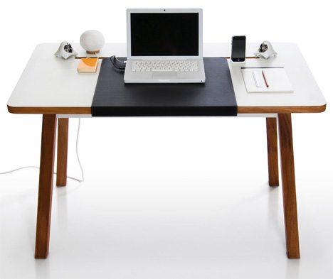 escritorio de diseño minimalista