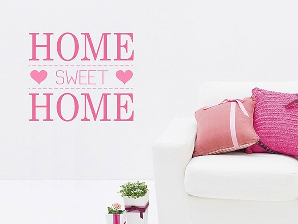 decorar las paredes INSPACES home rosa