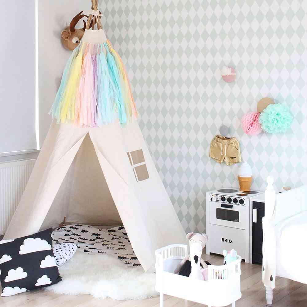 decorar las habitaciones infantiles Moozle tipi