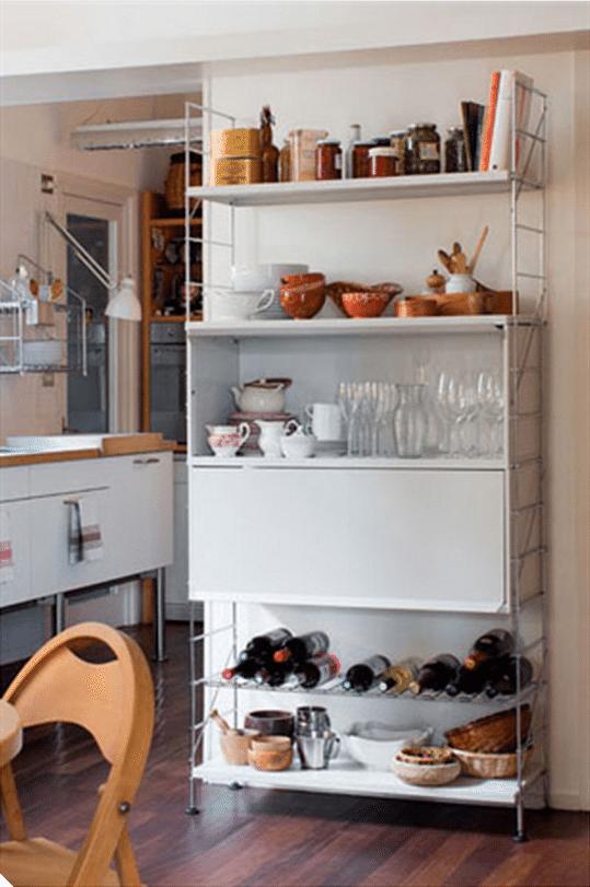 muebles auxiliares que querr s en tu cocina ForEstanteria Auxiliar Cocina