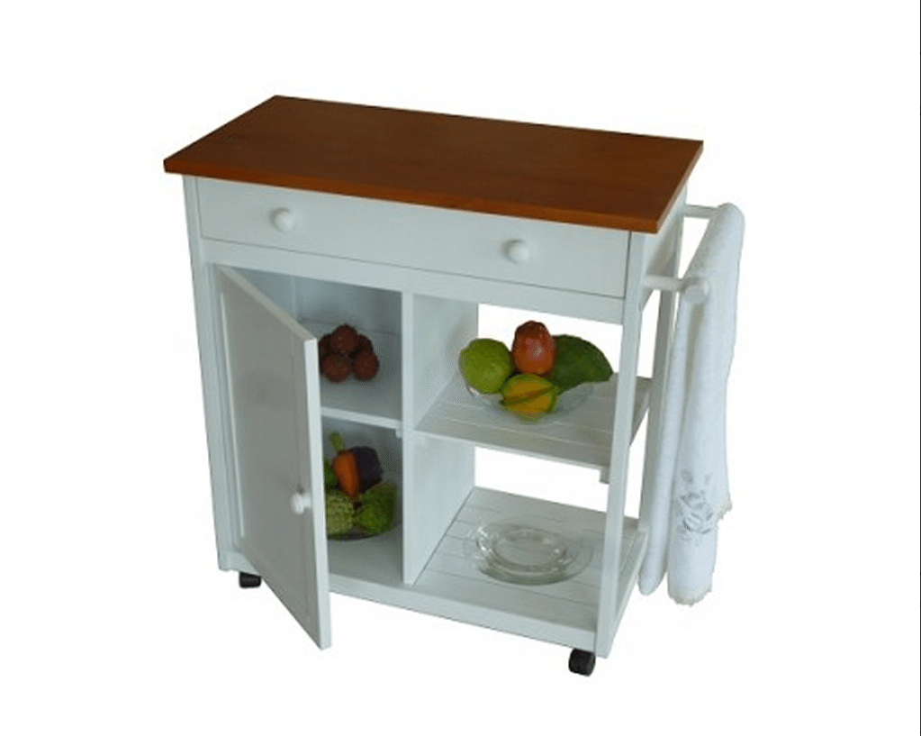 Muebles auxiliares que querr s en tu cocina for Islas de cocina y camareras