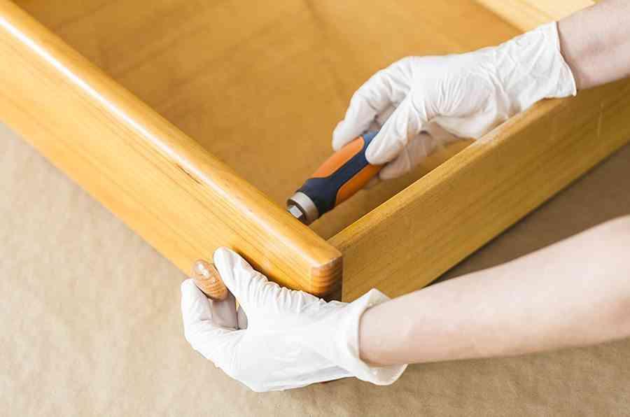 pintar una comoda de madera paso 1