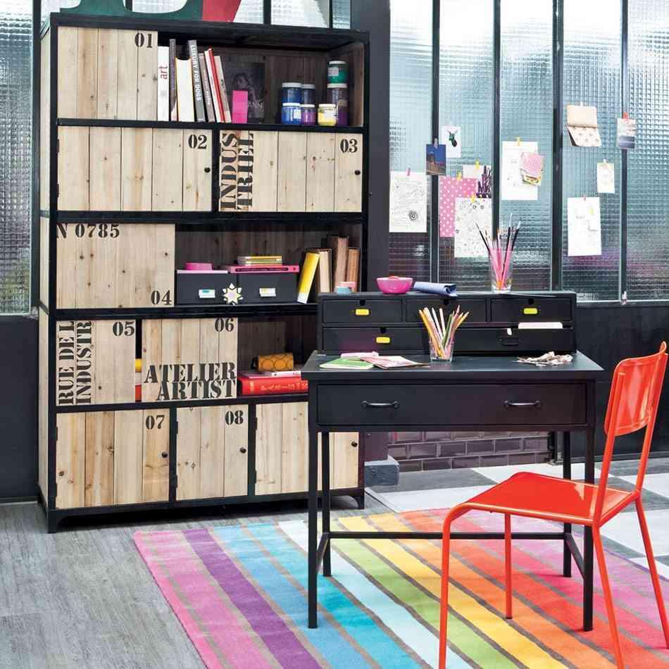 decorar habitaciones juveniles rayas colores