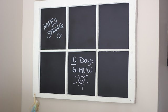 tablón de pizarra para notas