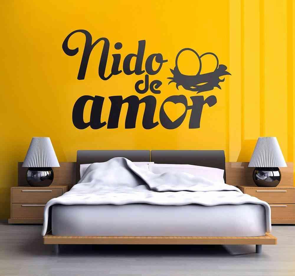 decorar las paredes tenvinilo dormitorio