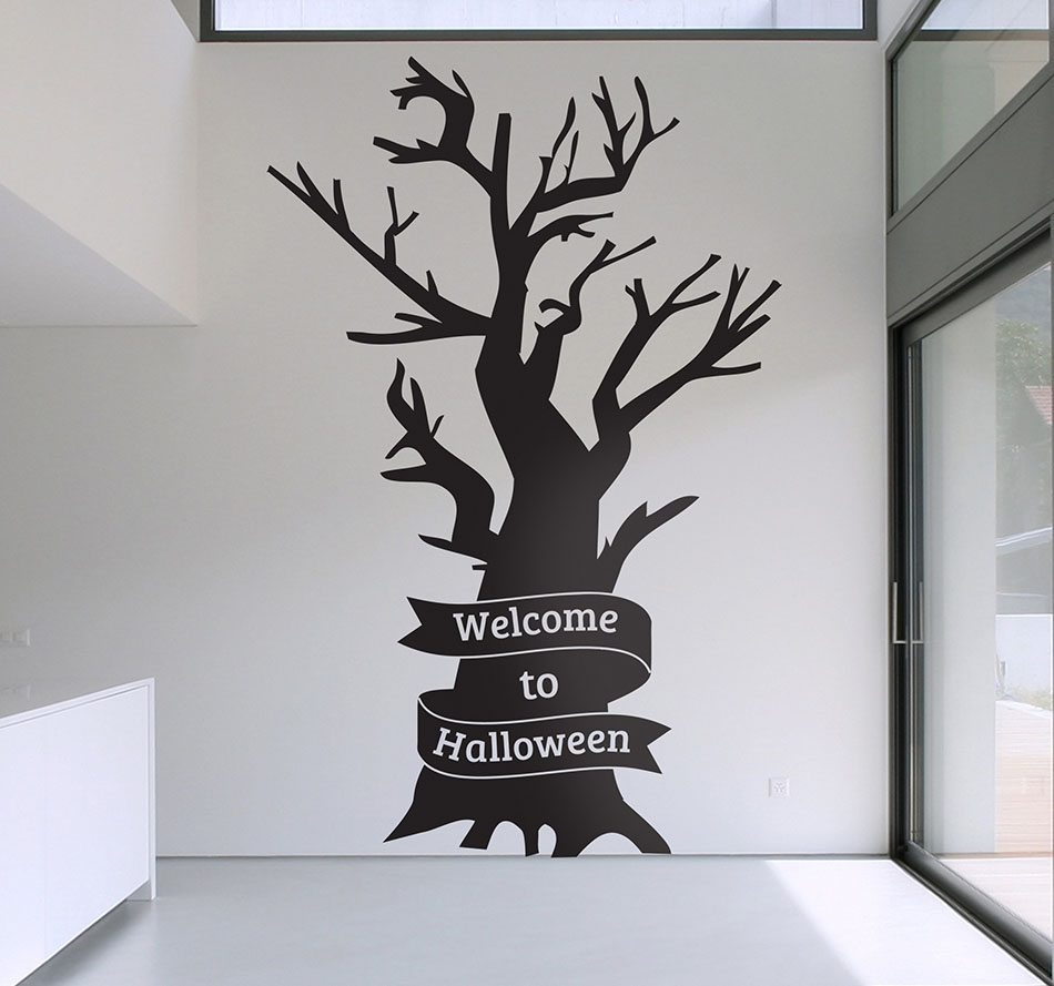 decoracion de Halloween Tenvinilo welcome to halloween