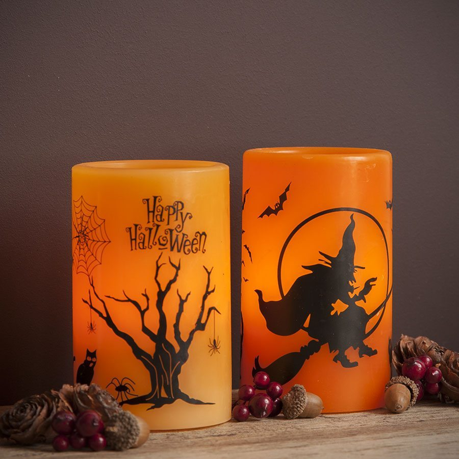 decoracion de Halloween TheContemporaryHome velas