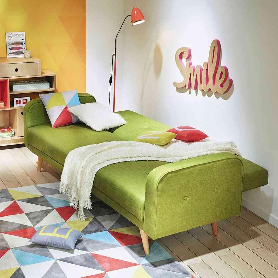 decorar habitaciones juveniles triangulos