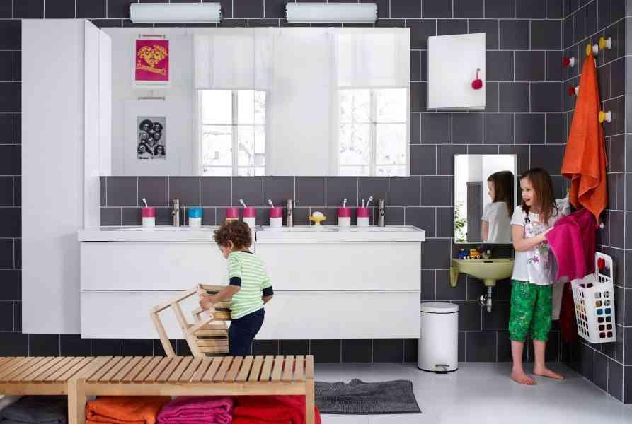 Cómo decorar un cuarto de baño para niños