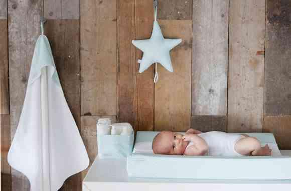 habitación del bebé cambiador car mobel