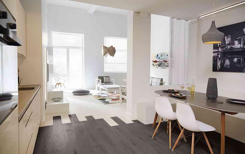 decorar ambientes de estilo minimalista COMEDOR lm