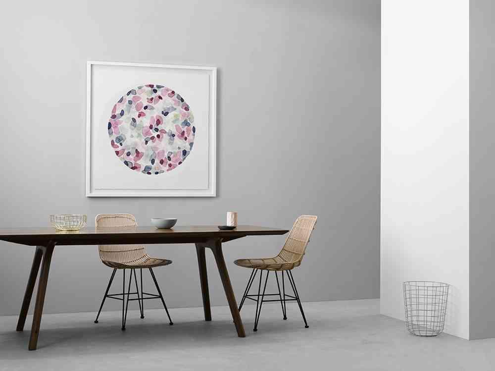 decorar ambientes de estilo minimalista comedor PAPER EMPIRE