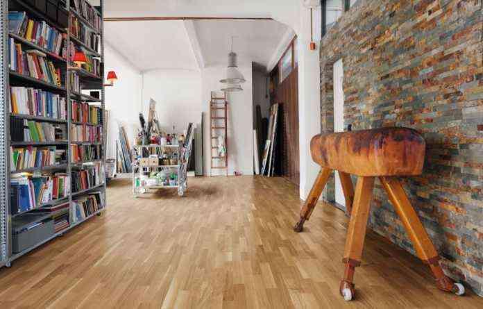 decorar un estudio de pintor