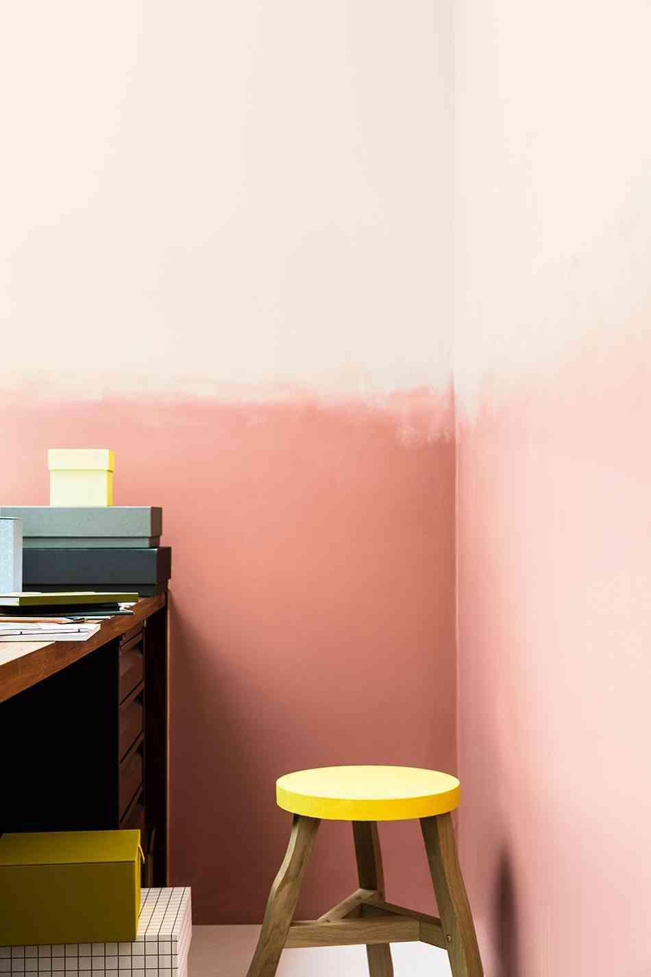 pintar las paredes Efecto degradado