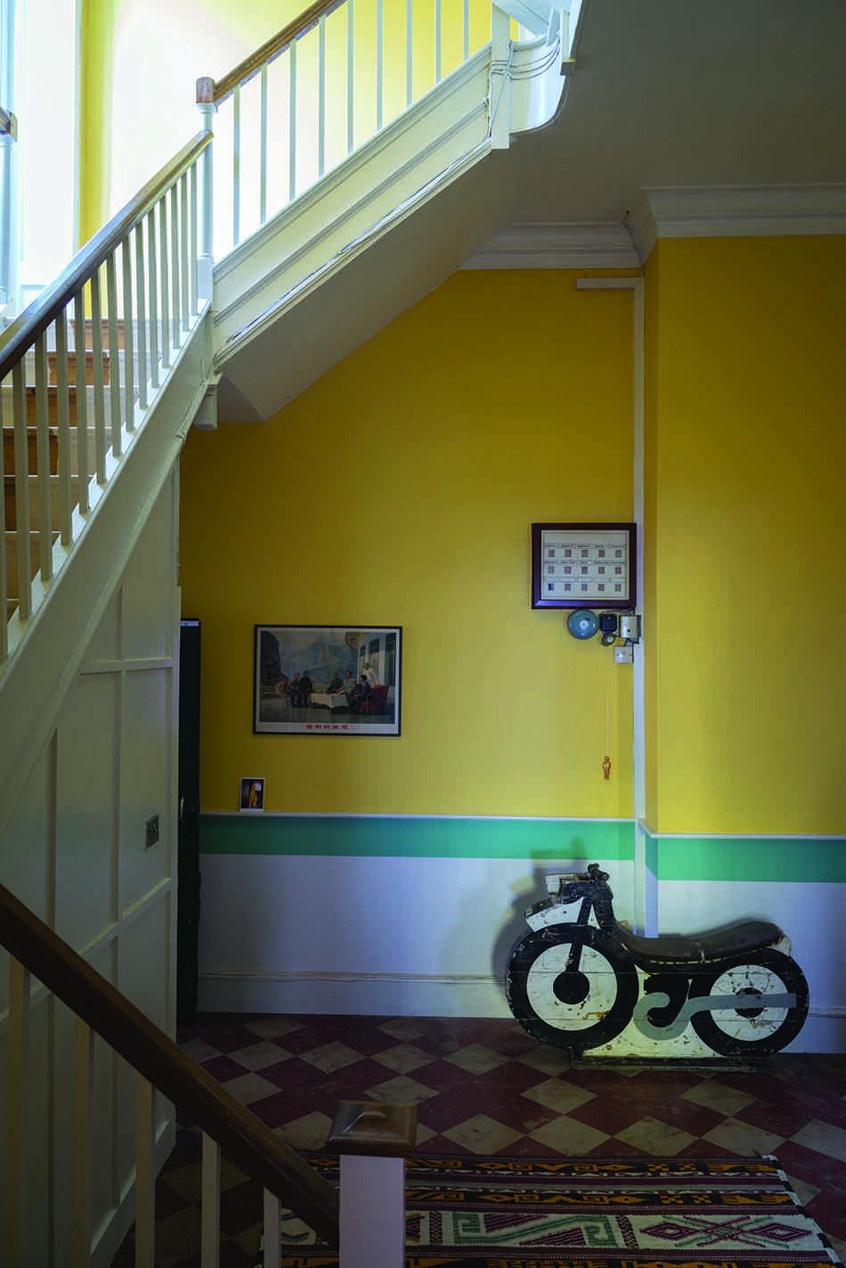 cómo pinto mi casa  FarrowBall amarillo