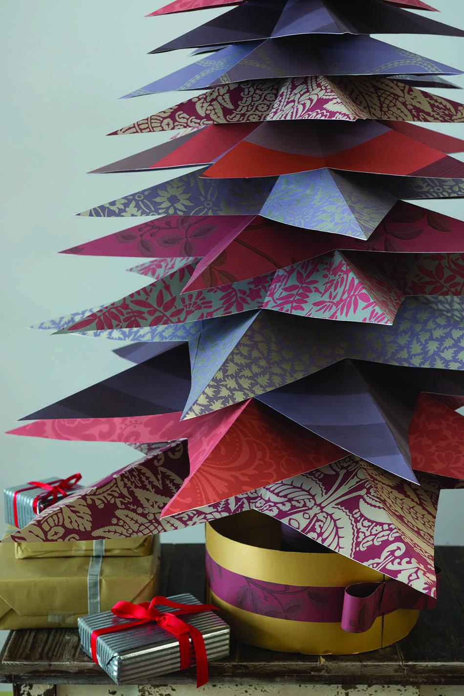 Cómo hacer un árbol de Navidad FarrowBall ChristmasTree