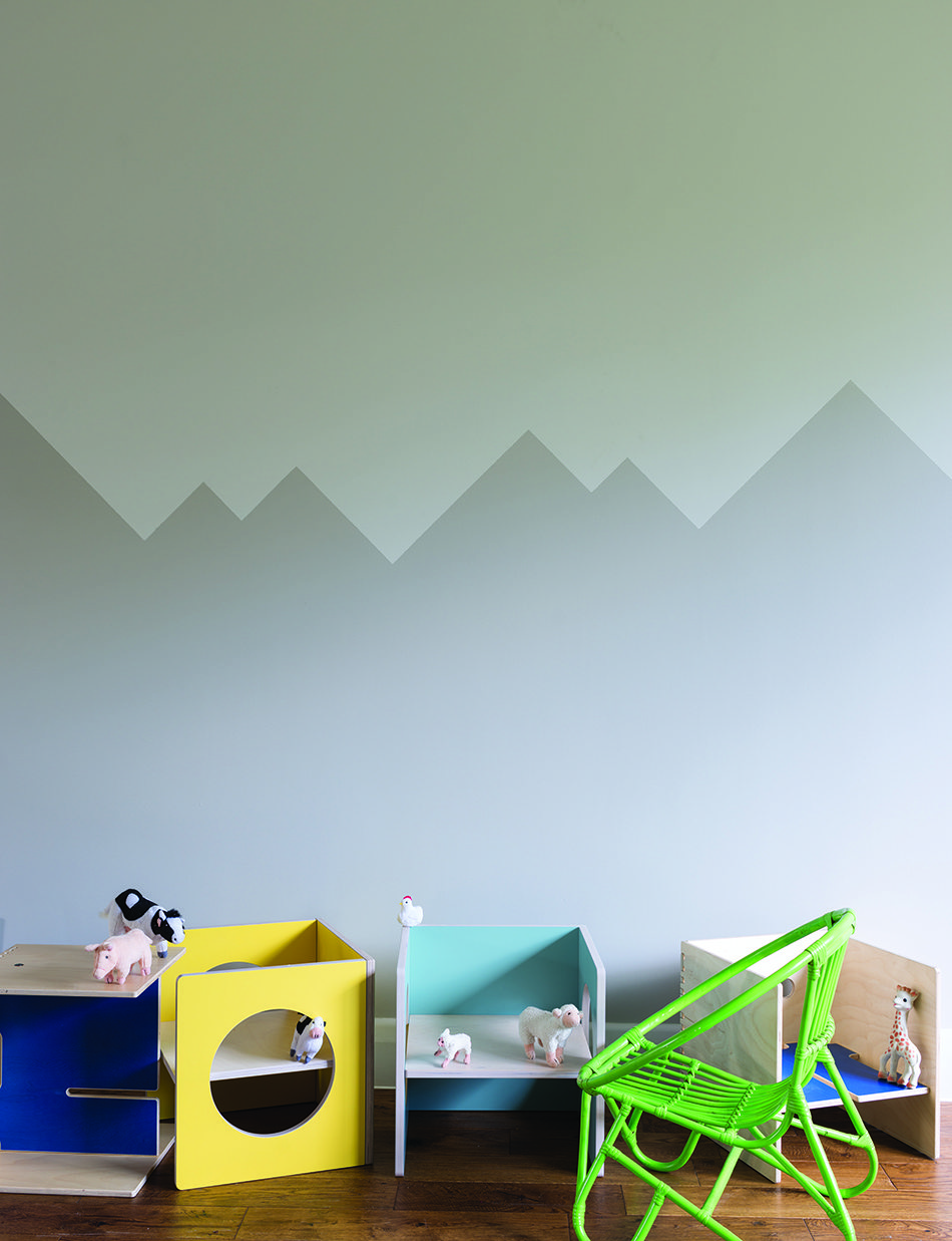 cómo pinto mi casa FarrowBall montanas grises