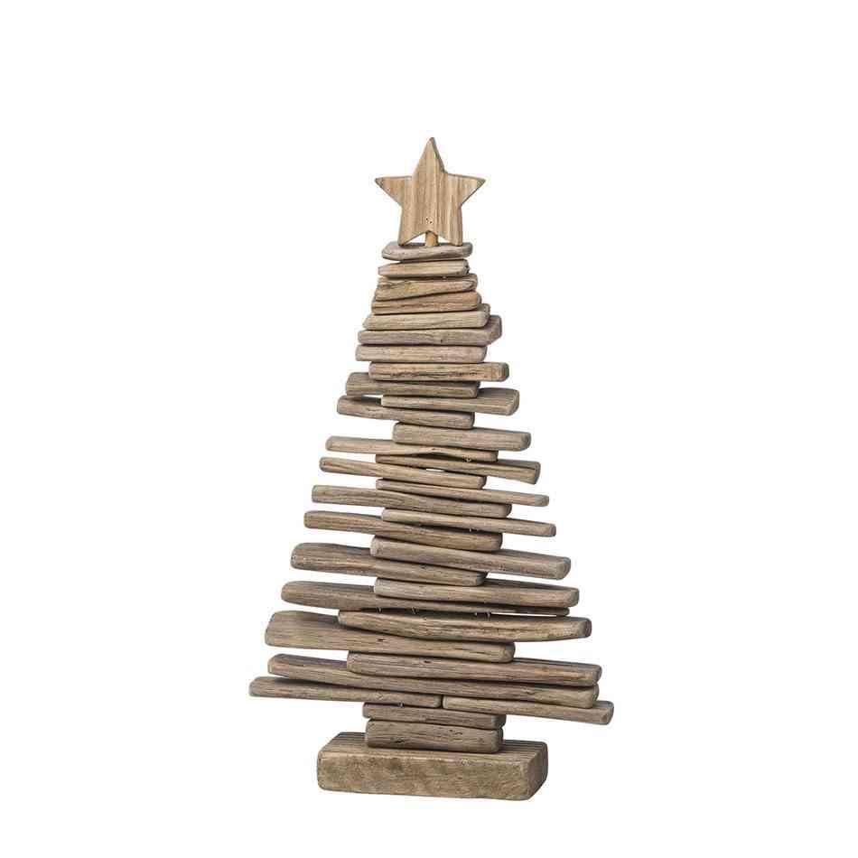 Cómo hacer un árbol de Navidad IdyllHome WoodenChristmasTree
