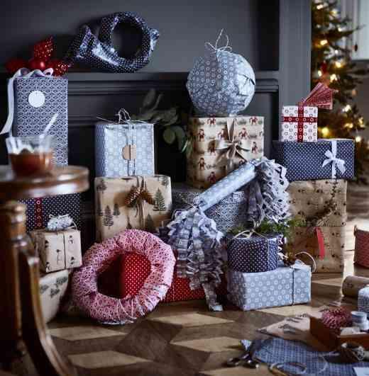decoración de Navidad en Ikea ikea regalos