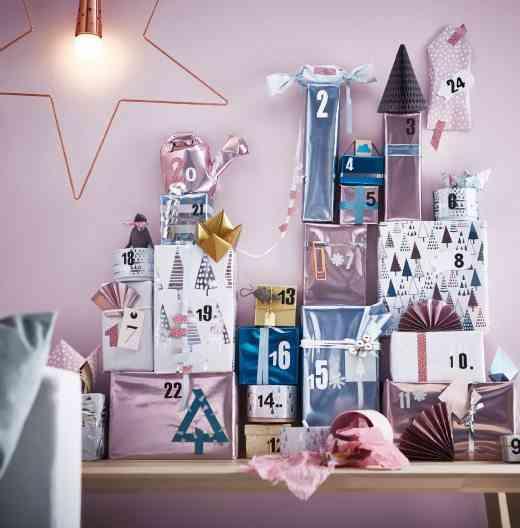 decoración de Navidad en Ikea ikea regalos nordico