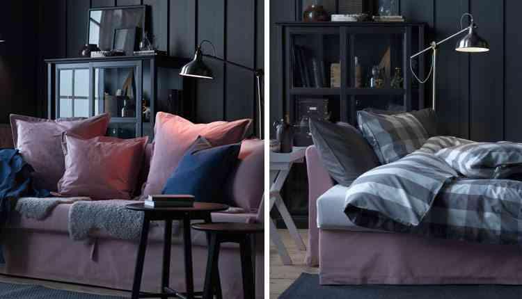 5 claves para elegir un sof cama y acertar - Sofa cama pequeno ikea ...
