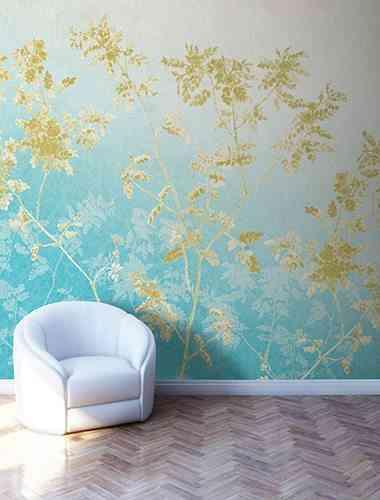 jardin ingles papel pintado