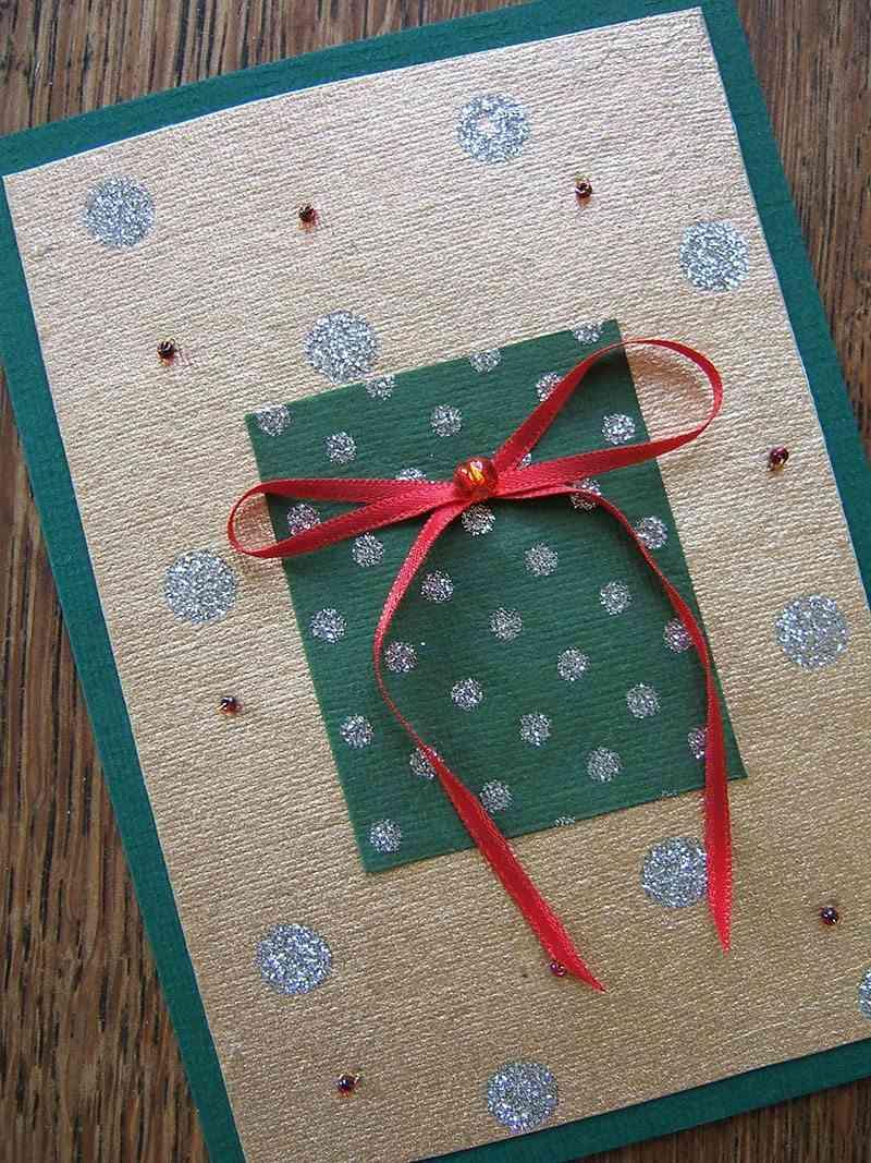 decorar postales de Navidad jessica spengler