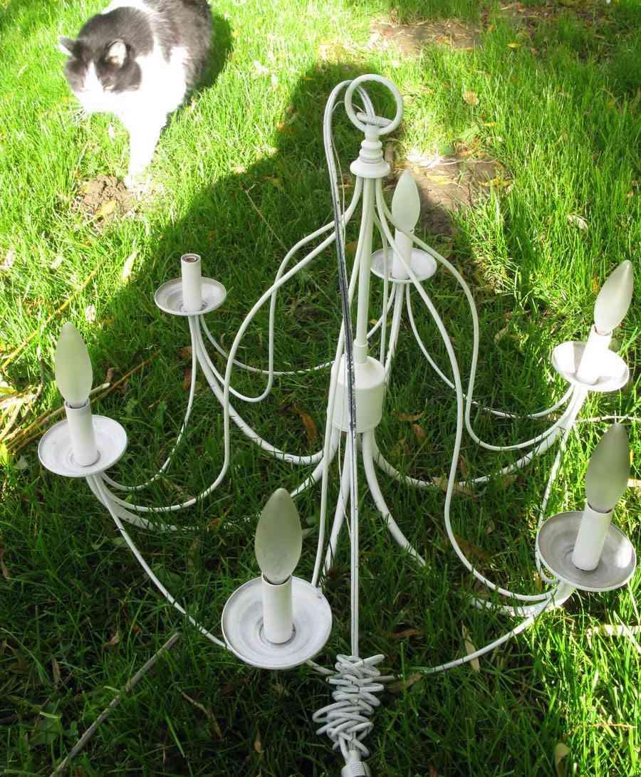 lámpara de araña lampara
