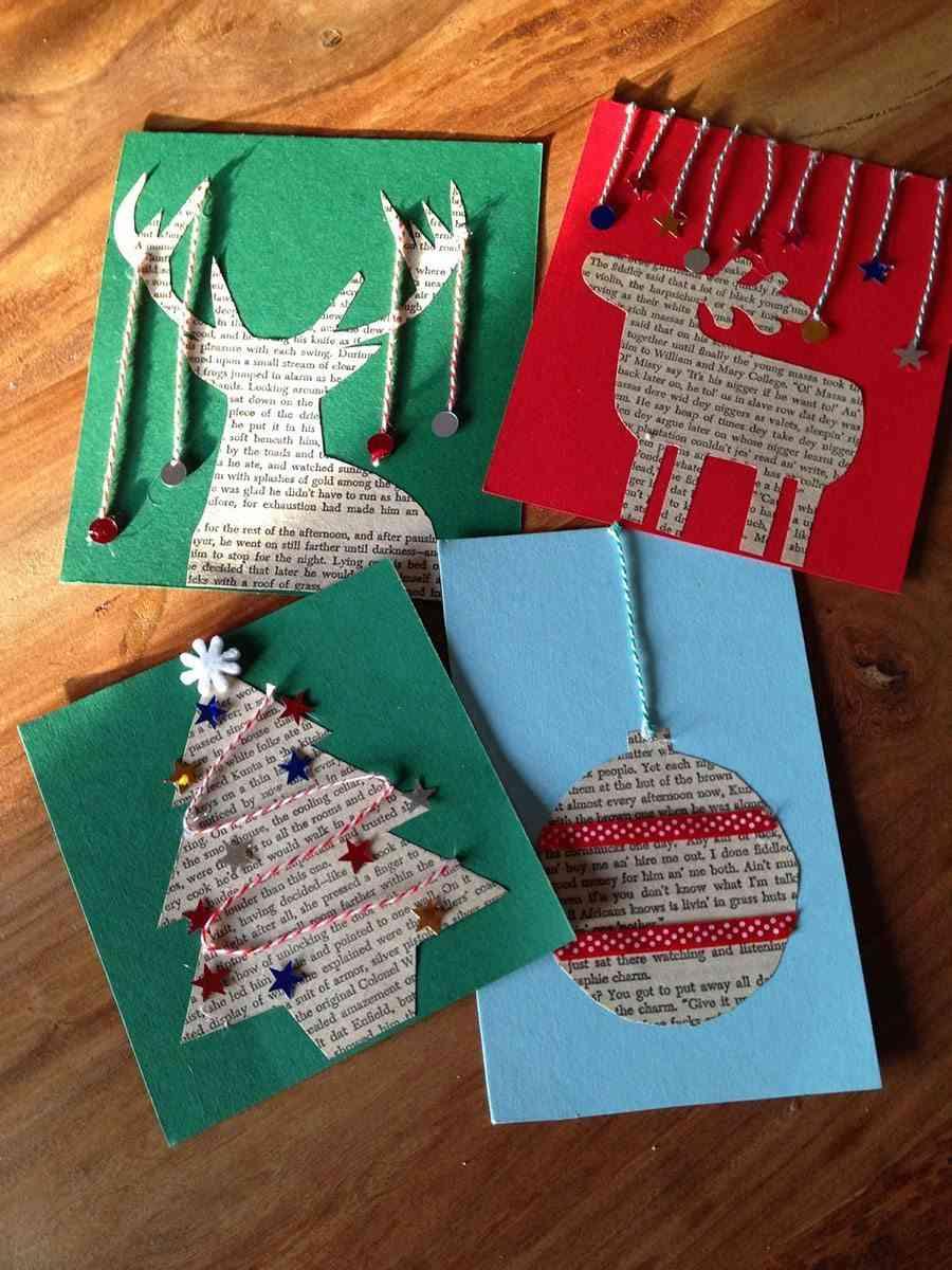 Ideas Para Decorar Postales De Navidad - Como-se-hace-una-tarjeta-de-navidad